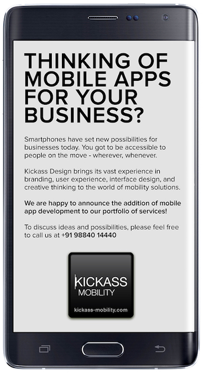 Kickass Mobility - mobile apps design and development