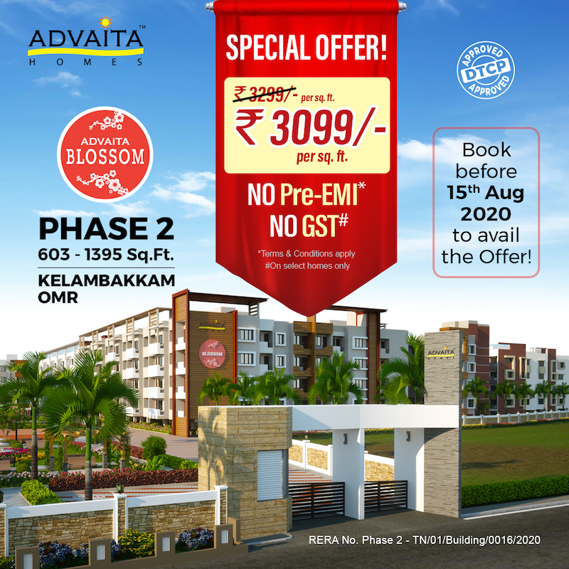 Digital marketing campaign and social media management for Advaita Homes
